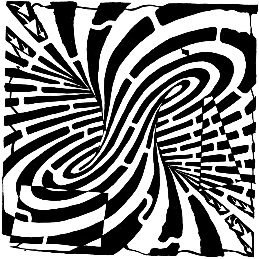 Mobius Maze by ink-blot-mazes