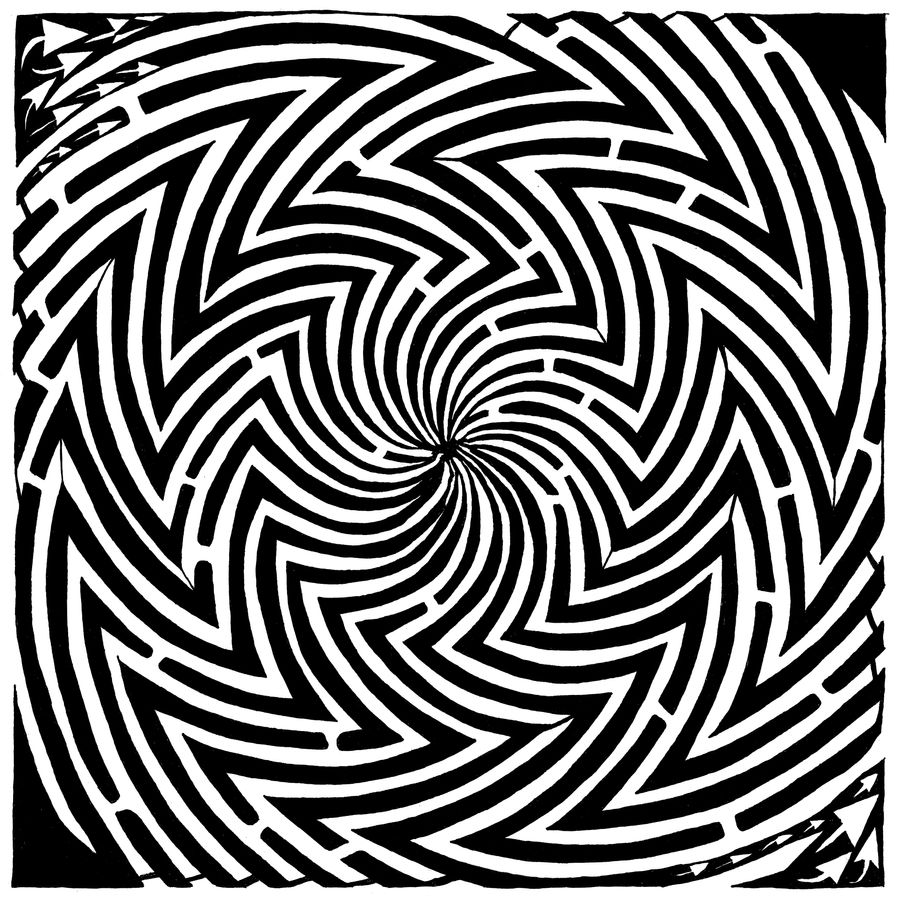 Optical Illuson Maze of Madnes