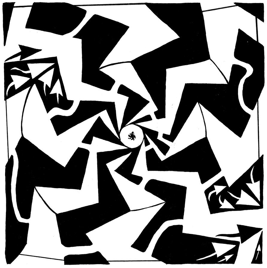 Paparazzi Maze by ink-blot-mazes
