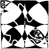 Rorschach Maze by ink-blot-mazes