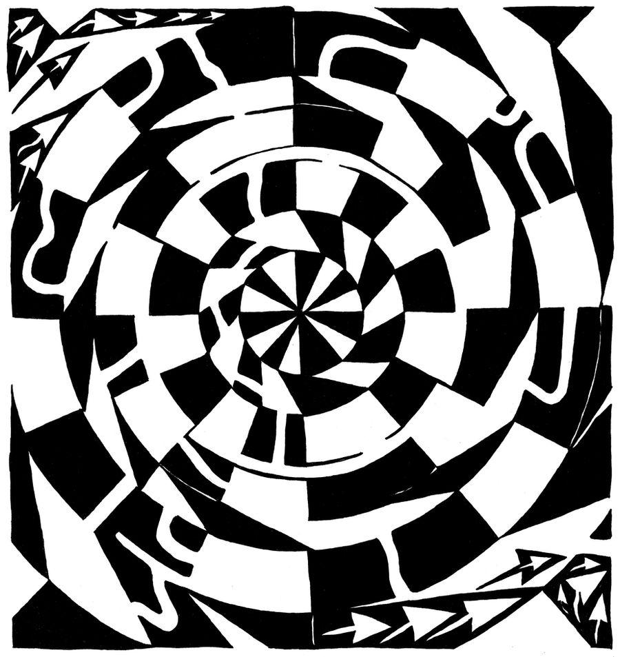 Spinning Tunnel Maze