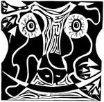 Bull Charging Rorschach