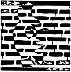 Saxophone Player or Woman Maze