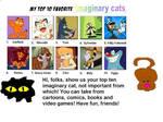 My Top Ten Imaginary Cats