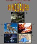 My Top 5 Dinosaur Movies TV-Shows