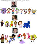 My Top Three German Cartoon/Anime Voice Actors