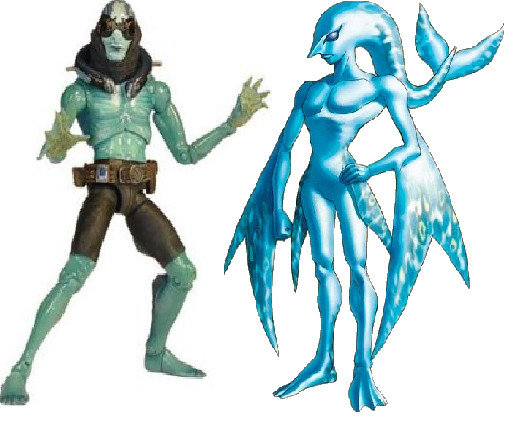 Secret Twins Abe Sapien And Zora By Austria Man On Deviantart