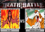 Death Battle: Scar vs. Shere Khan