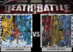 Death Battle: God Monsters vs. Sacred Beasts