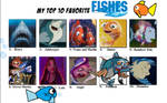 My Top Ten Favourite Fishes