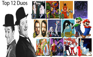 My Top 12 Favourite Duos by Austria-Man