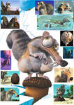 Character Collage: Scrat