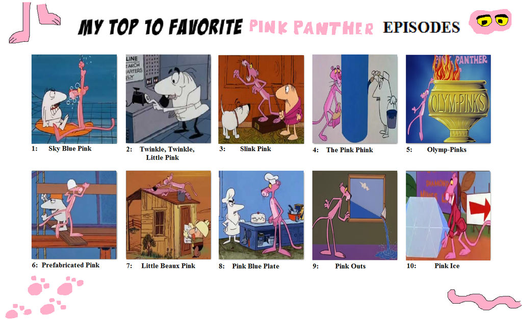 pink panther episodes new