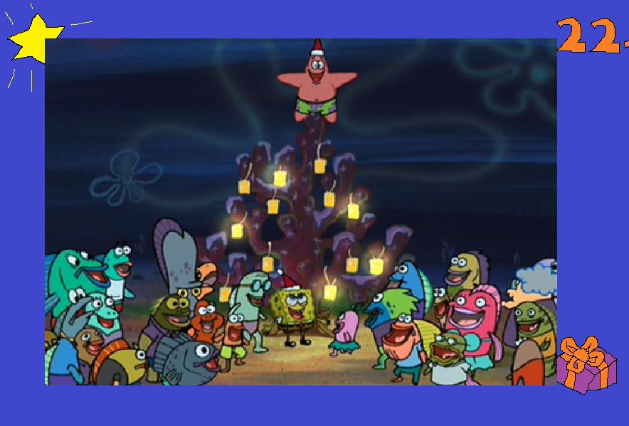 22nd december the spongebob christmas special by austria man
