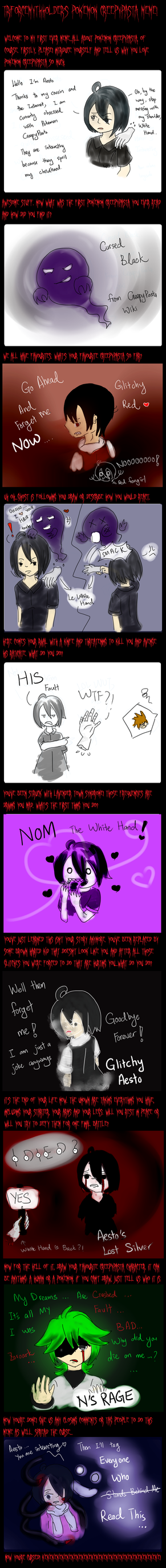 Pokemon CreepyPasta Meme by Aestoria
