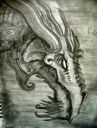 Shadow Dragon Sketch
