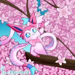 Sylveon with Sakura