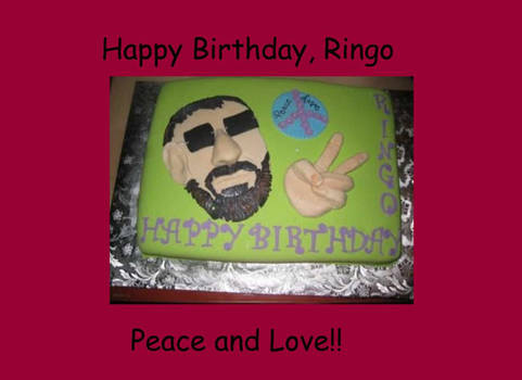 Ringo's Cake