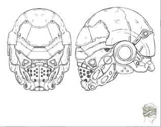 Master Class Elite Helmet by LordKonton