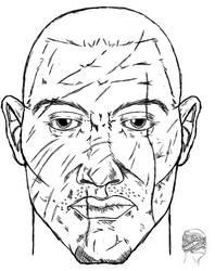Jase's Face Draft by LordKonton