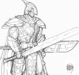Paladin Knight by LordKonton