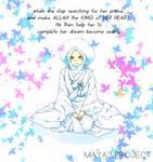muslimah kimono bride