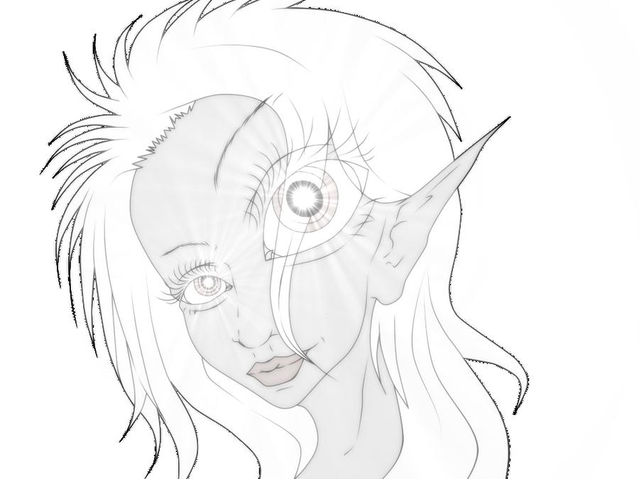Strange elf! by Irys666