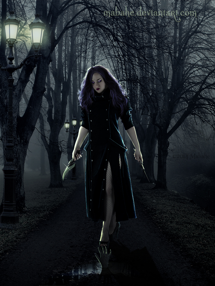 Night huntress by Mabahe