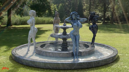 The Fountain II by Stevie3D