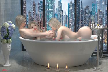 Bath Time III by Stevie3D