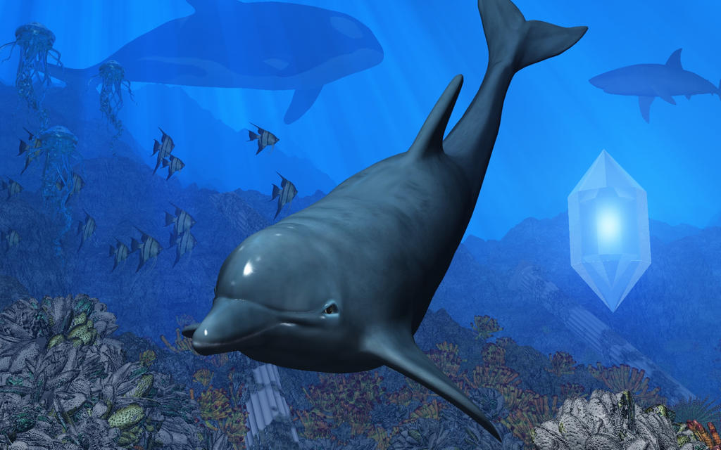 Ecco_the_Dolphin_by_ ...