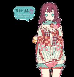 Chica anime by Momo-Honey