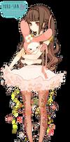 Anime girl y melodi