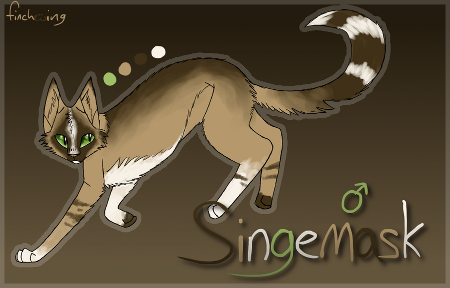 singemask reference sheet by finchwing on deviantart