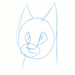 Expressions practice animation - sketch by Finchwing