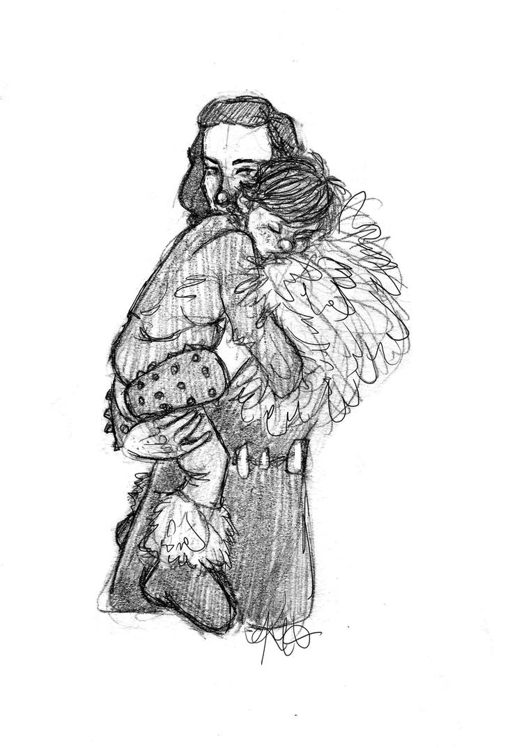 Mother and Son by kate-7htc