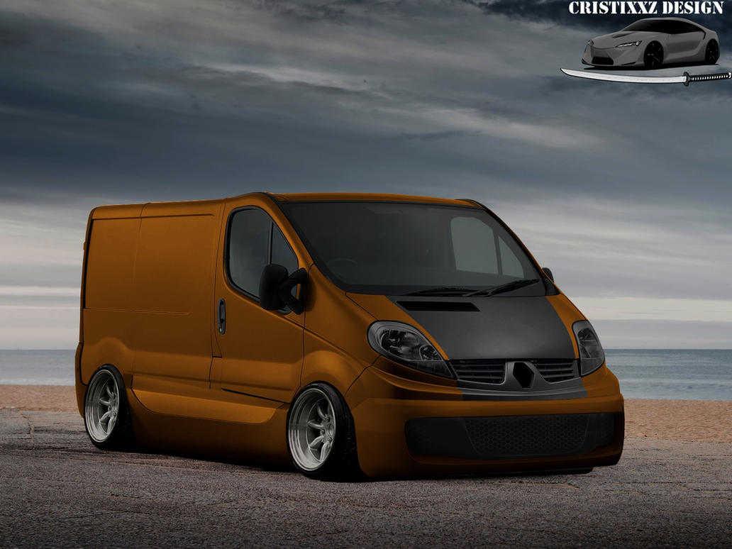 renault trafic tuning by cristixxz on deviantart. Black Bedroom Furniture Sets. Home Design Ideas