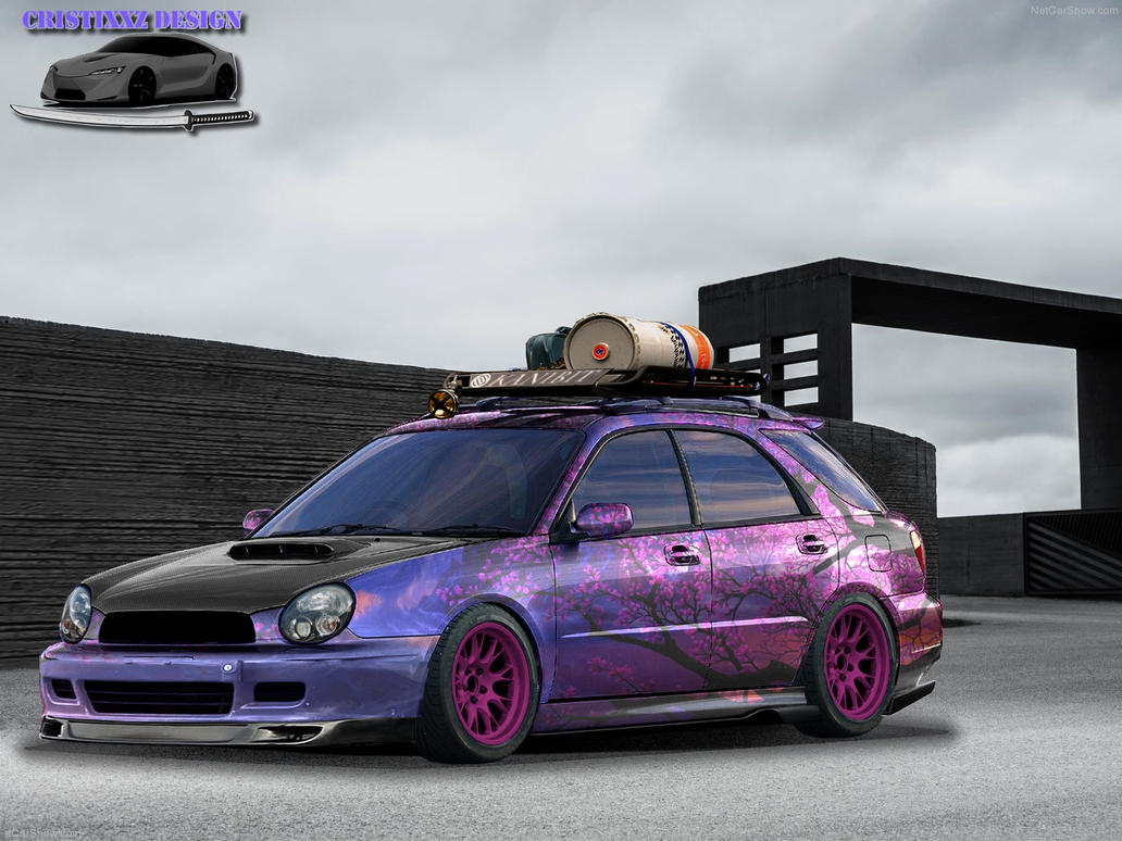 subaru impreza wagon tuning by cristixxz on deviantart. Black Bedroom Furniture Sets. Home Design Ideas