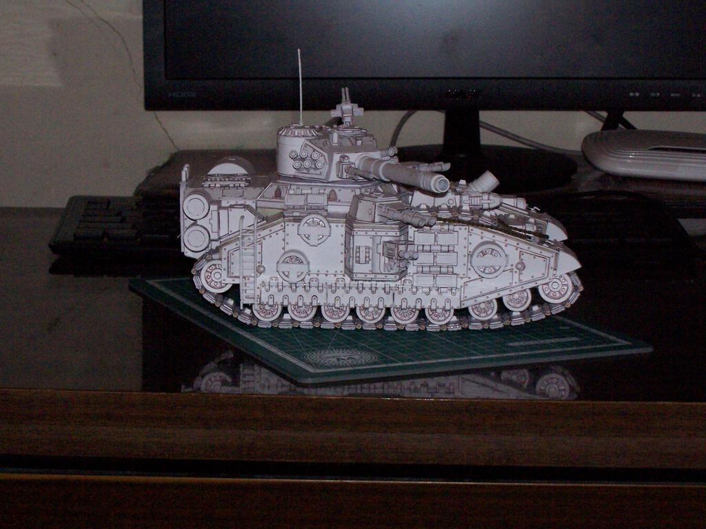 Baneblade Papercraft 100 0011 by DoomTroopper on DeviantArt