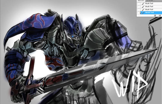 optimus prime Transformers 4 AoE