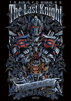 OPTIMUS PRIME transformers THE LAST KNIGHT by masdabboy