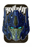 another head Optimus Prime by masdabboy