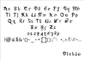 Diablo Full Font