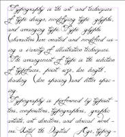 Script Font - Beloved - Test by Weegraphicsman