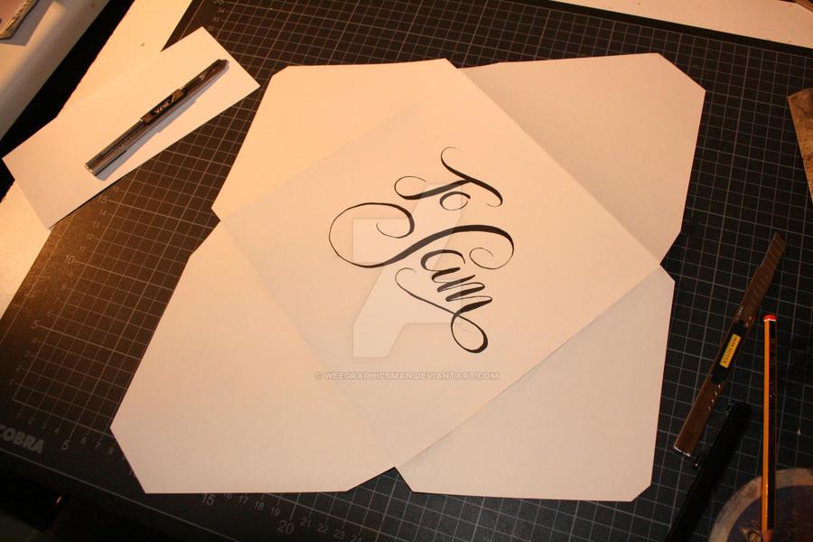 Birthday Card Envelope By Weegraphicsman On Deviantart