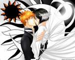 Black Sun and White Moon