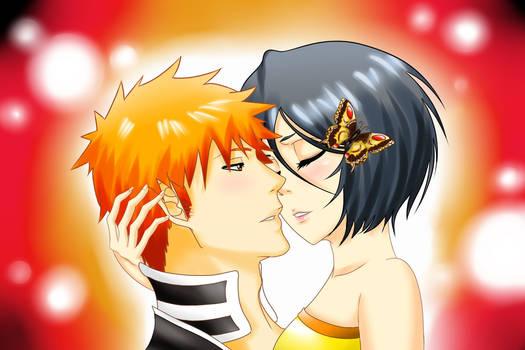 IchiRuki kiss