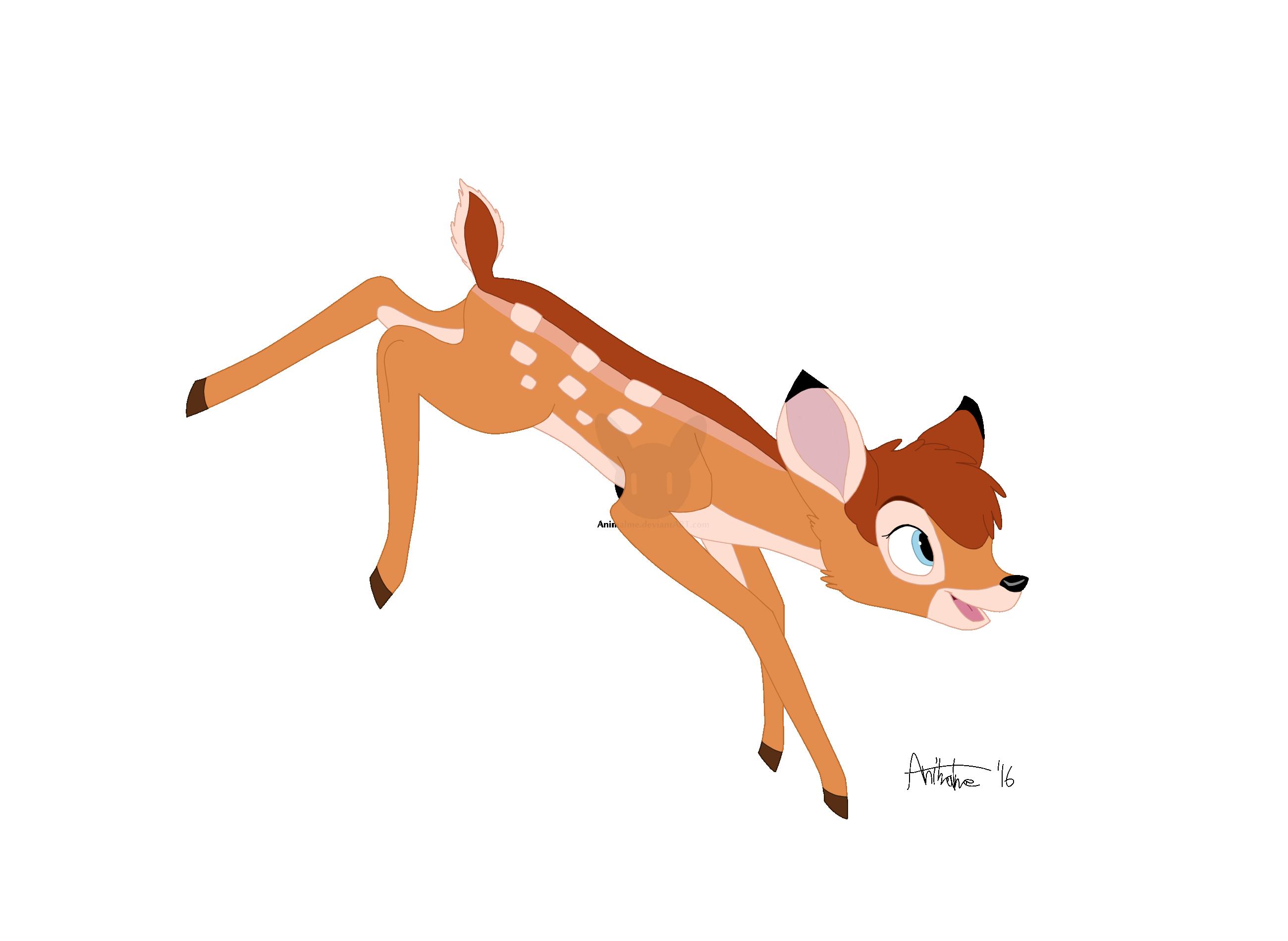 100 Disney Bambi And Faline Coloring