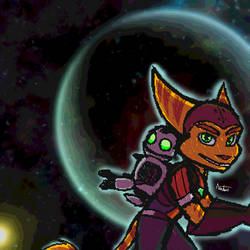Ratchet and Clank by Animalme