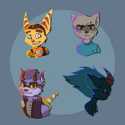 Blind Ratchet and Others